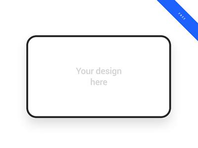 Line Desktop Device mockup design landscape desktop device device mockup mockup design mockup psd mockup
