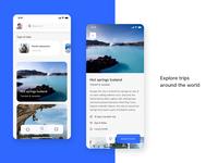 App Tripme finder adventure interaction app design traveling trip app uiux ui uidesign travel app travel trip