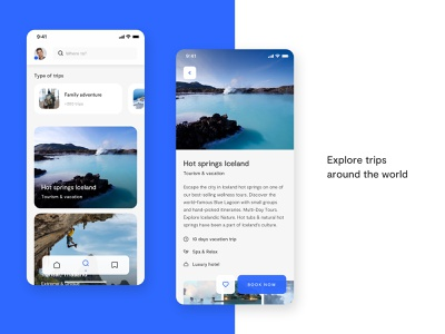 App Tripme finder adventure interaction app design traveling trip app uiux ui uidesign travel app travel trip