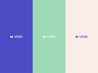 Vitah - Vitamins for her brand design mark symbol logotype brand design branding logo design logo