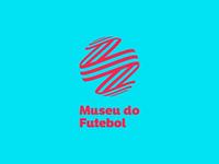 Museu do Futebol football soccer logo soccer museum branding logo vector design