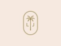 Wedding Logo illustrator graphic designer logo design palm tree icon design graphic design vector logo