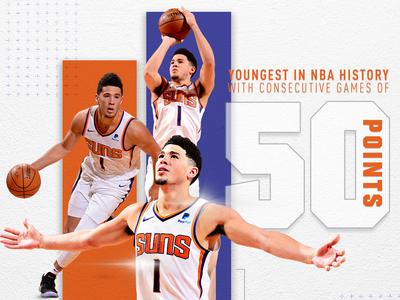 Phoenix Suns - Booker 50