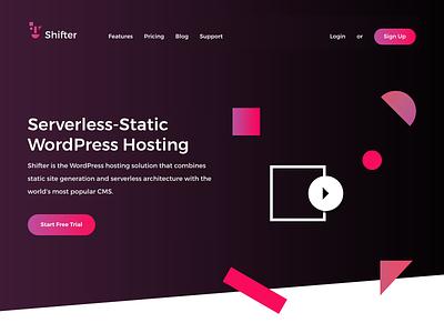 The new website is up! design serverless hosting illust wordpress