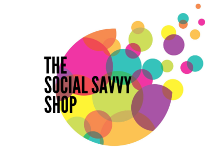 The Social Savvy Shop  Pinterest Logo