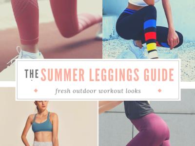 Fresh Summer Leggings Looks
