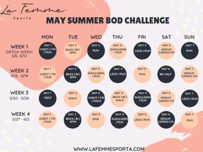 May Summer Challenge