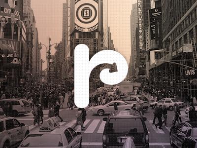 Retargeting logo r arrow retargeting city