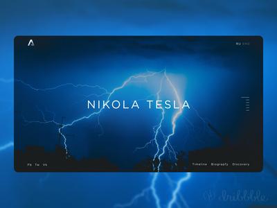 Concept site Nikola Tesla.