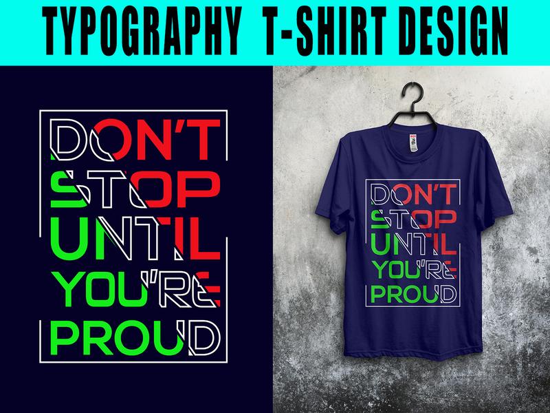 motivational typography t-shirt design illustration t-shirt design minimal vector animation design branding t-shirt typography motivational motivate