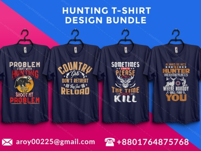 hunting t-shirt design bundle tees tee tshirtdesign tshirtstore tshirts huntinglovertshirt huntinglover minimal t-shirt design design t-shirt branding typography hunting t-shirt hunter hunting