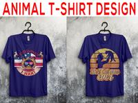Animal t-shirt design