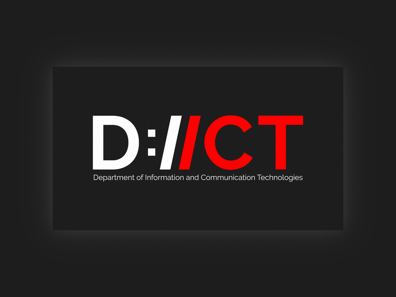 Logo for dept of Information and Communication Technologies