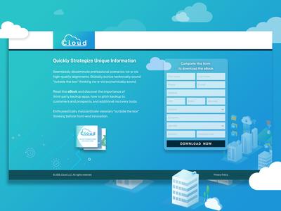 Cloud landing page