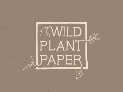 Wild Plant Paper