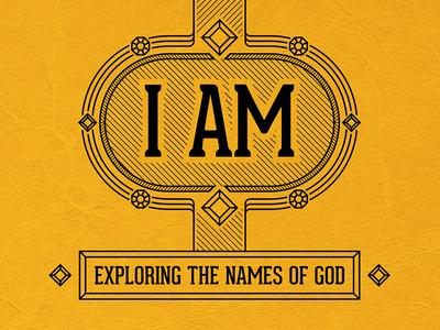Sermon Series - I AM