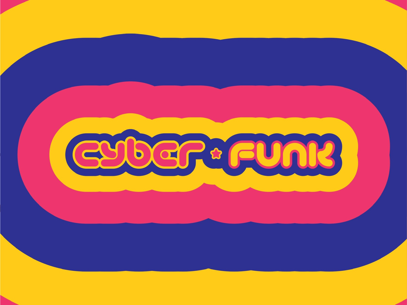 Cyber⭐️Funk graphicdesign gaming