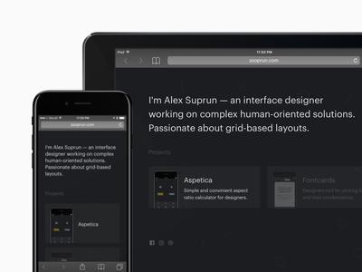Sooprun – Personal Website