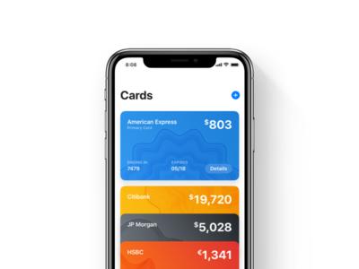 Cards – UI Kit Example
