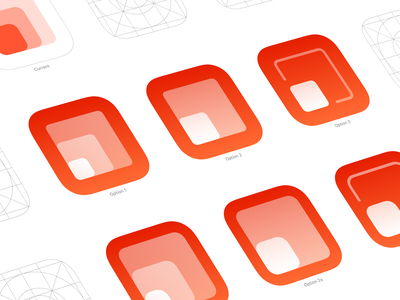 Aspetica 2 – Icon Options app icon redesign after before grid app ios icons options icon aspetica