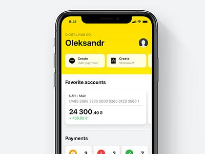 Raiffeisen Business Online – Dashboard & Accounts banking bank app raiffeisen coprorate business banking app bank apple app ios