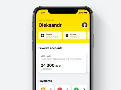 Raiffeisen Business Online – Dashboard & Accounts