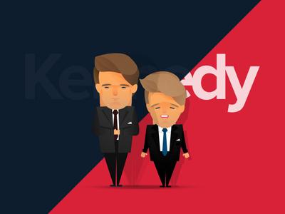 Kennedy Brothers – RFK & JFK