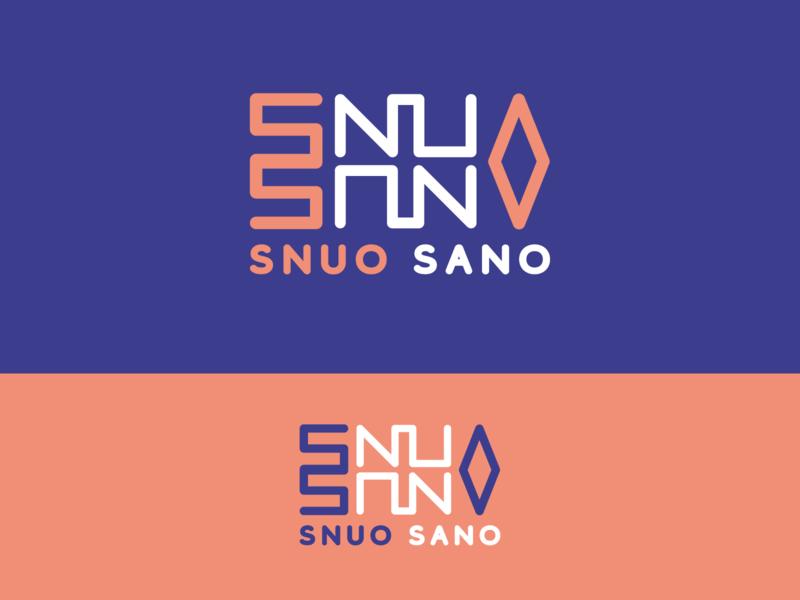 Snuo Sano logo design logodesign brand design branding concept branding logo typography illustrator design vector