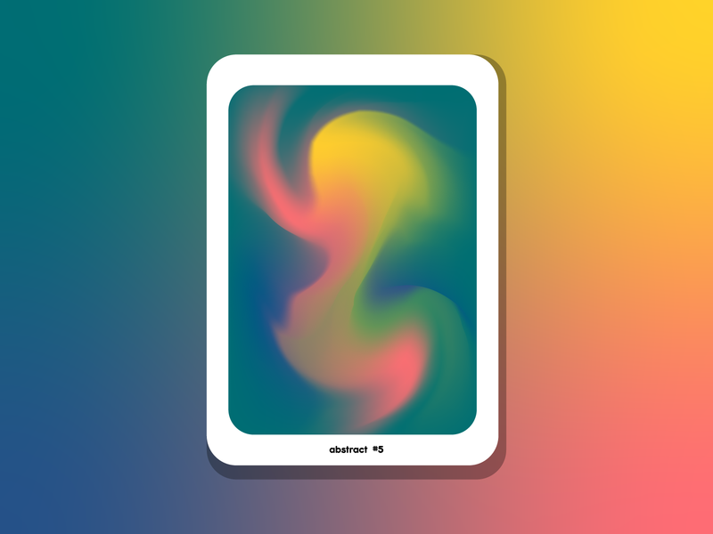 Abstract #5 color palette colors color artist art abstract design abstract art abstract illustrator design vector