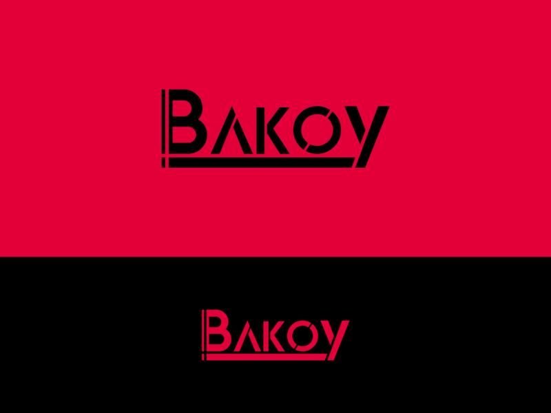 Bakoy logo design logodesign brand design logo branding concept branding typography illustrator design vector
