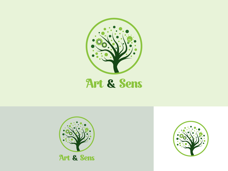 Art & Sens dribbble best shot dribbblers dribbbler dribbble color palette colors color logo design logodesign brand design logo branding concept branding typography illustrator design vector