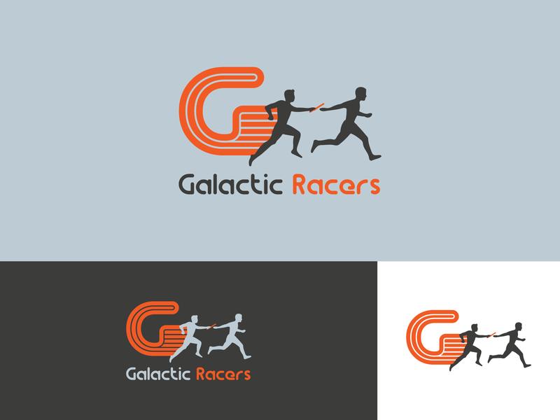 Galactic Racers dribblers dribbleartist dribble shot dribbler dribbble dribble logo design logodesign brand design logo branding concept branding typography illustrator design vector