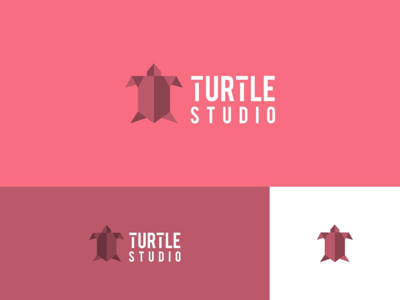 Turtle Studio dribbblers dribbbler dribbble best shot dribbble dribble logo design logodesign brand design logo branding concept branding typography illustrator design vector