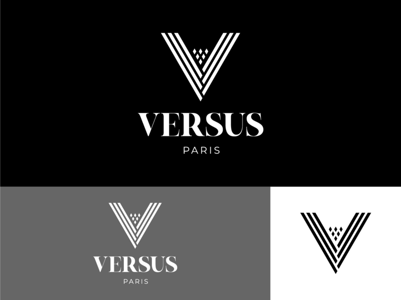 Versus shots shot dribbbler dribbble best shot dribbble dribble logo design logodesign brand design logo branding concept branding typography illustrator design vector