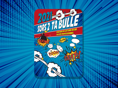 Sors de ta bulle poster design poster a day poster art posters poster color palette colorful color art dribble illustration dribbble best shot dribbble typography illustrator design vector
