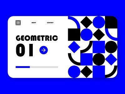 Geometric reception dribbble best shot concept mobile ui mobile app webdesign website animation flat minimal web app icon typography ux vector branding ui logo illustration design
