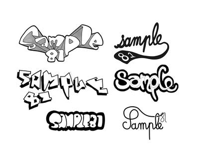 """Sample 81"" Samples Types"