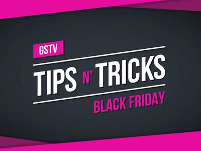 GSTV Black Friday Tips & Tricks design illustration motion graphics gstv