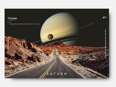 Saturn_ photoshop poster design poster flat  design branding background design background art minimal flat graphic design abstract illustration design
