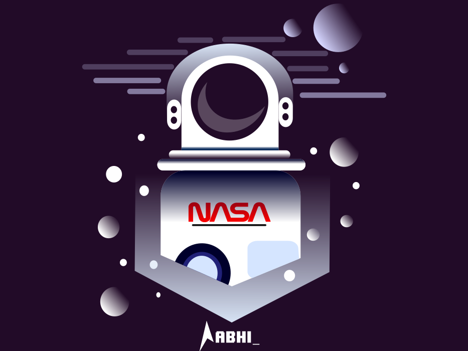 Spaceman app space night chances abstract ux ui vector simple background art icon background design graphic graphic design flat  design flat logo illustration minimal design