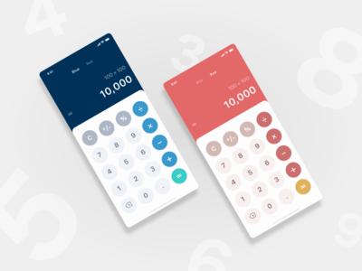 Daily UI challenge 004 ▷ Calculator