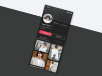 Daily UI challenge 006 ▷ User Profile