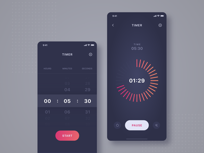 Daily UI challenge 014 ▷ Countdown Timer timer countdown timer dailyui014 dailyuichallenge dailyui webdesign uidesign appdesign app xd web ux ui