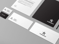 TwinStar Logo Design