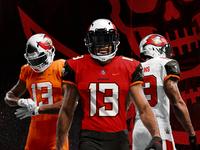Tampa Bay Buccaneers Redesign nike design sports buccaneers redesign uniform football
