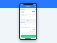 Daily UI challenge #02 — Credit Card Checkout