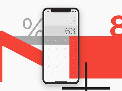 Daily UI challenge #04 — Calculator