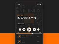 Daily UI challenge #09 — Music Player