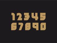 Eindhoventc bold numerals