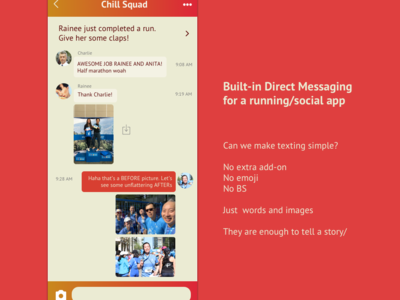Daily UI Challenge Day 13: Direct Messaging